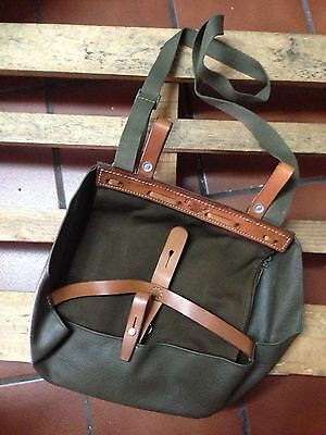 1983 NEW Vintage Swiss Army Military Bread Bag Purse Hunting Fishing