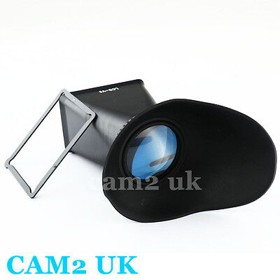 """3"""" LCD Screen 2.8x Extender Hood Viewfinder Protector for Sony NEX camera 5 3 C3"""