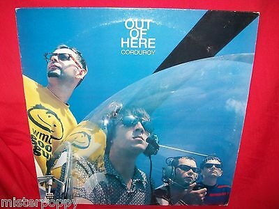 CORDUROY Out of here LP 1984 UK Acid Jazz MINT-