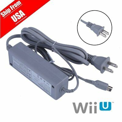 Fast Charge For Nintendo Wii U Gamepad US Plug Wall AC Charger Power Supply EJ7