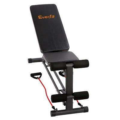 FID Gym Bench Press Adjustable Home Fitness Exercise Weight ABS Incline Flat