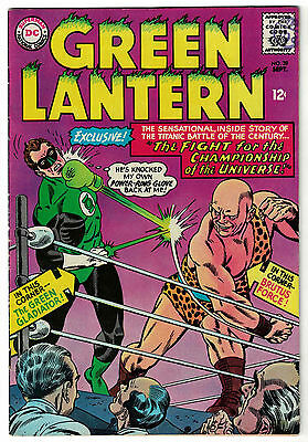 DC Comics GREEN LANTERN Issue 39 Fight For The Championship Of The Universe FN+