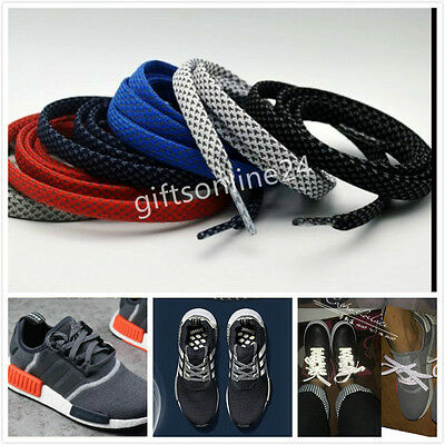 3 Size,One Pair of 3M Reflective Flat Sport Casual Shoe Laces Shoelace