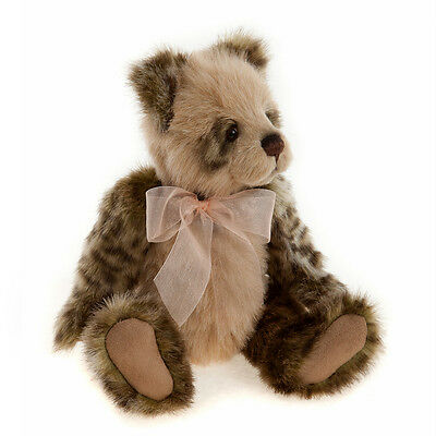Olive - Charlie Bear Plush Collection - Jointed Plush Collectable Teddy BNWT