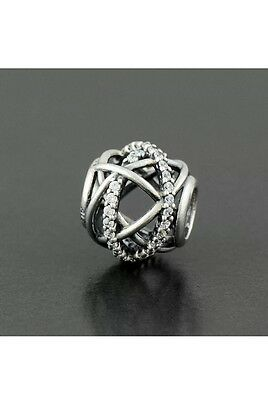 pandora charms Authentic Genuine Pandora Sterling Silver Galaxy Charm #791388CZ