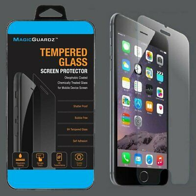 50x Wholesale Lot of 50 Tempered Glass Film Screen Protector for iPhone 7 Plus