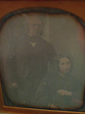 Ross And Thomson Of Edinburgh Photographer Leather Cased Daguerreotype