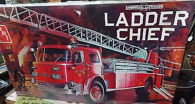 Factory Sealed AMT 1/25 AMERICAN LAFRANCE LADDER CHIEF T511 w/ shipping box