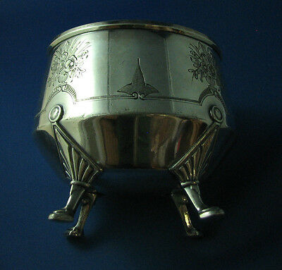 Vintage small ICE Bucket MF-D Plated by REED-BARTON silverplated Pat Jan 6 1869