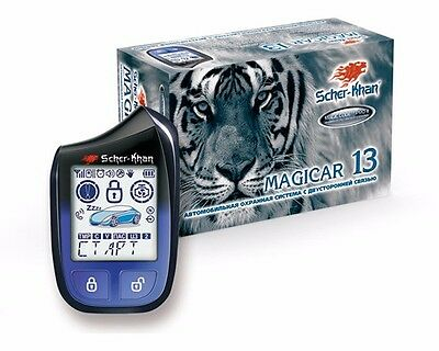 SHER-KHAN Magicar 13 car alarm 3000m autostart 868 Mhz CAN-bus K-Line Slave-mode