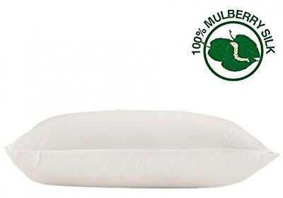 LILYSILK 100 Pure Mulberry Silk Pillowcase Quality Comfort Shape Support