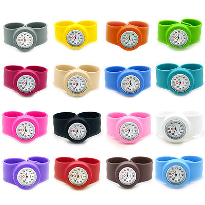 New Stainless Steel /Plastic /Silicone /Smiley Face Quartz Fob Nurses Watch Hot