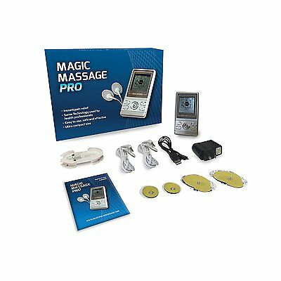 Magic Massage Pro TENS Electro Therapy Pulse Massager for Drug-Free Pain Relief
