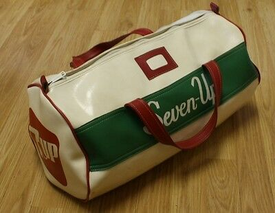 vintage vinyl 7 up sports bag seven up Rare hard to find