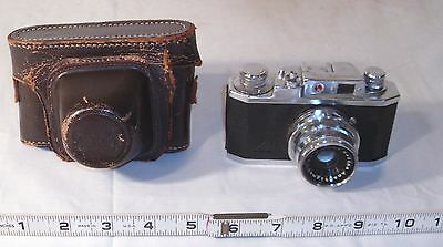 Sunscope 35X Vintage 35Mm Camera With Case