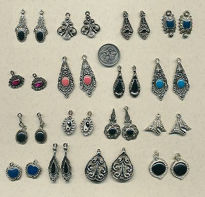 20 pairs of earring charms