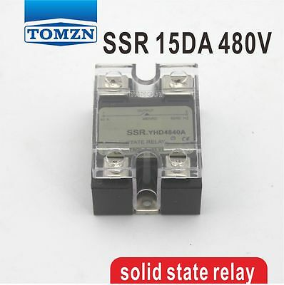 15DA SSR Control 3-32V DC output 24~480VAC single phase AC solid state relay