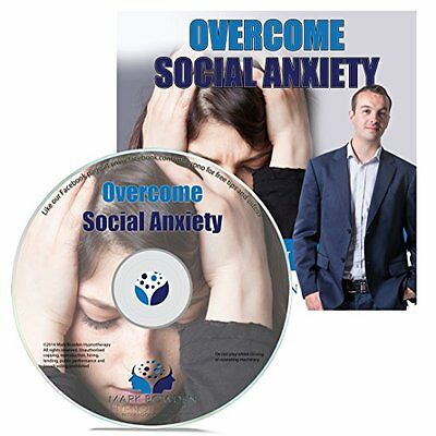 Overcome Social Anxiety Hypnosis CD - Finally Feel Relaxed & At Ease in Groups -