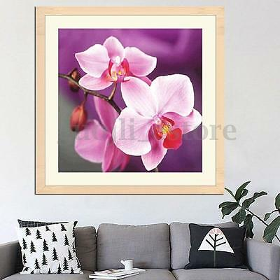 5D DIY Cross Beautiful Stitch Flowers Diamond Embroidery Painting Home Decor