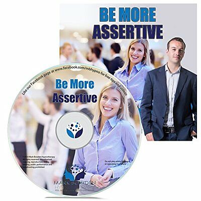 Be More Assertive Hypnosis CD - Stop Letting Other People Take Advantage of You