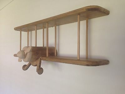 Wooden Aeroplane / Shelf
