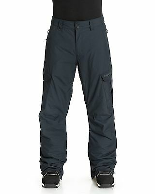 NEW QUIKSILVER™  Mens Mission Insulated 10K Snow Pant Ski