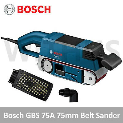 Bosch GBS 75A 75mm Belt Sander for Professional Woodworker 300rpm [220v Only]