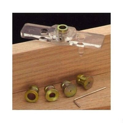 Wood Drill Bit Centering Drilling Tool Jig Dowel Hole Center Guide