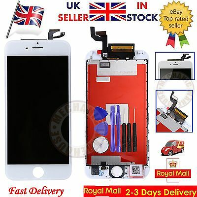 For iPhone 6S White LCD Display Touch Screen Digitizer Assembly  Replacement UK