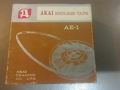 akal endless tape vintage tape as new, box with scuffing reel