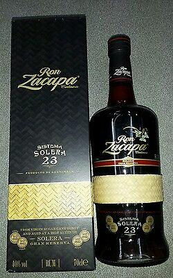 Ron Zacapa Centenaro 23 Rum *original gold medal bottle*