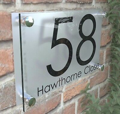 Perspex House Signs / Plaque / Door / Numbers / Personalised Acrylic / Plaques