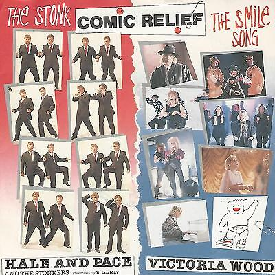 "Comic Relief - Hale & Pace / Victoria Wood  7"" Uk Press Ex"