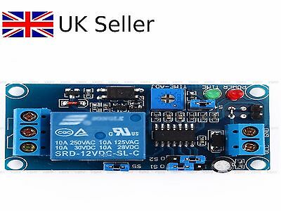 HOT 12V DC Delay Relay Delay Turn on / Delay Turn off Switch Module with Timer