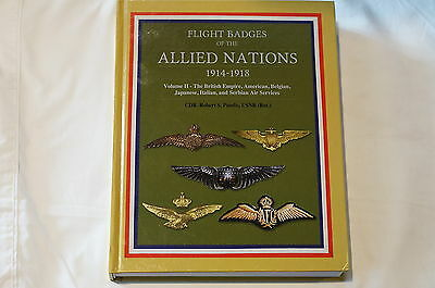WW1 Allied Flight Badges of the Allied Nations 1914-1918 Volume 2 Reference Book