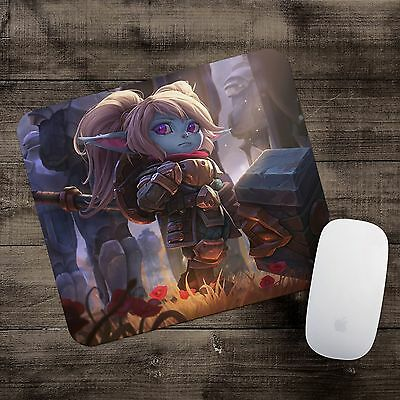 Poppy Mousepad League of Legends mouse pad LoL gamer playmat