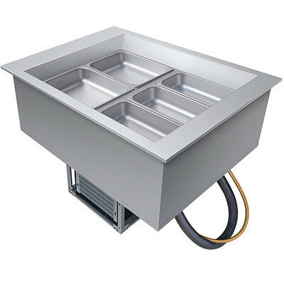 Hatco CWB-2 Two Pan Drop-In Refrigerated Cold Food Well