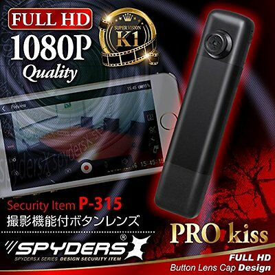 [microSD 32GB comes] Spiders X button-type camera miniature camera (P-315A)