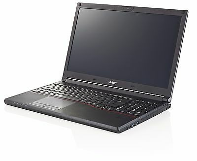 "NEW Fujitsu Lifebook E556 15.6"" Core i5-6200U 2.3GHz Laptop 4GB 500GB Win 7 / 10"