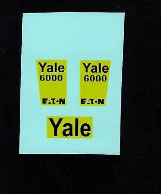 DINKY No 973 EATON YALE TRACTOR SHOVEL TRANSFERS/DECALS