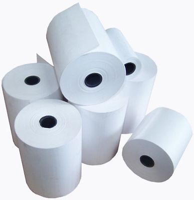 "2 1/4"" x 42' Thermal Paper Rolls (50 Rolls/Case) for Debit Credit Card Machine"