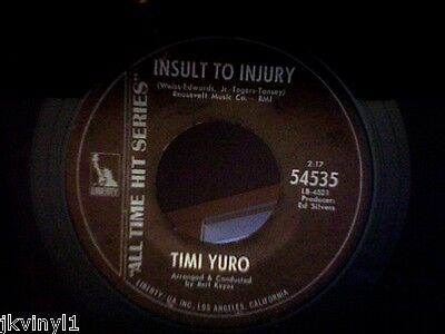 Timi Yuro-Insult Yuro-Liberty All Time Hit Series-54535. Vg++