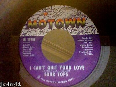 Four Tops-I Can't Quit Your Love-Motown M 1198. Vg+