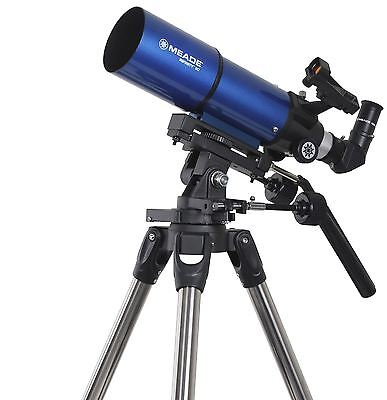 Meade Infinity 80mm Altazimuth Refractor Astronomy Telescope - Blue, MPN 209004