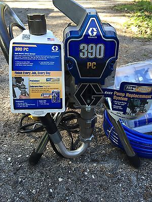 New - Graco 390 Pc 17C310 Model Airless Paint Sprayer 110V .021 Max Tip