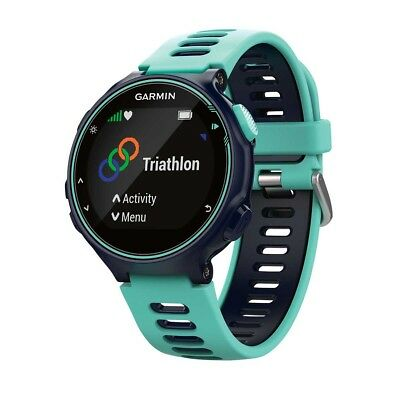 NEW Garmin Forerunner 735XT GPS Multisport Watch, Frost Blue from Rebel Sport