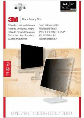 3M PF23.8W9 Privacy Filter For Widescreen Desktop LCD Monitor 23.8