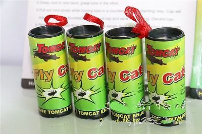 4pcs Fly Catcher Rolls Tape Insect Flies Mosquito Sticky Glue Ribbon Trap Bugs