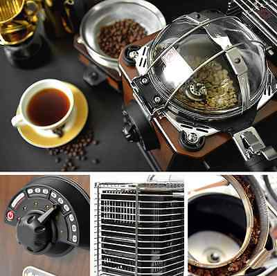 Glass Dome Coffee Roaster Instant Bean Cooling Machine Home Roasting