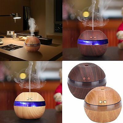 300ml Humidifier Purifier LED Electric Aromatherapy Essential oil Diffuser + USB
